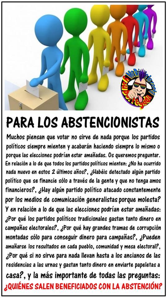 ABSTENCIONISTAS